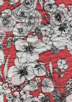 Flowery Pattern 7 by radelaidian-stock