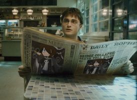 Harry Potter is reading about me! by BillyBCreationz