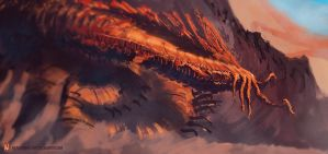 Creature Sketch 02-01-13 by Long-Pham