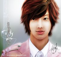 Jo Kwangmin - Boyfriend paint by alicamateus