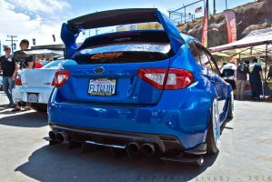 Subaru Impreza WRX STi at Evolution by BLOX 2014 by Freebro