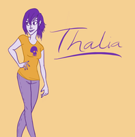 A little bit of Thalia by wondernez