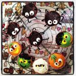 Halloween cupcakes by Fantasmiki