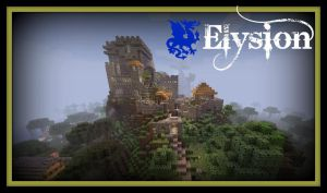 Elysion Minecraft Fort by AktimTheOne