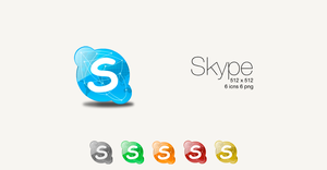 Skype Colours by SL05NED