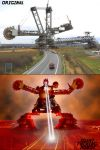 GIANT ROBOT Before and After by DarthBudzy