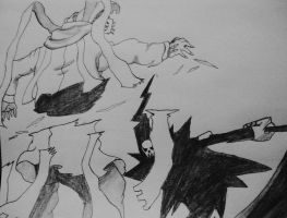 Death Vs Kishin by FearsomeX23