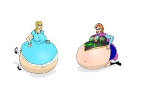Alice and Anna: Adventures In Expando-Land by Nfl8or