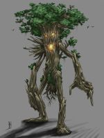 WoD Artworks: Ent by OptionBB