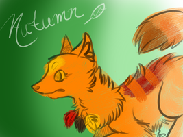 Autumn Foxeh by AutumLeavesofFall