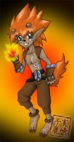 Commission: Flamon by kojika