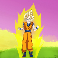 The Super Saiyan by Nekis311