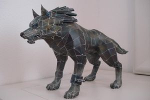 Wolf Link Papercraft by Ancaleon