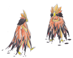 Fakemon: Gaugockh by JoJoDee