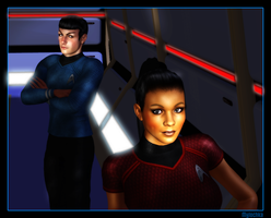 Trek XI Uhura by mylochka