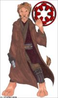 Anakin Skywalker -anthro- by raitora
