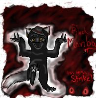 The Black Mamba Ninja Wolf by Xmidnightblackwolfx