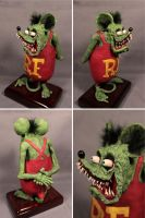 Rat Fink by kezeff