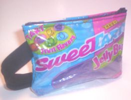 SweeTarts Wrist Pouch by RyuuseiHime