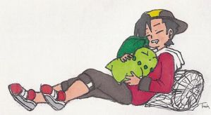 Ethan and Lei Sleeping by BeagleTsuin