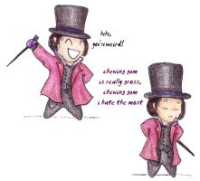 Willy Wonka by cybill