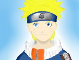 Painting Try - Naruto by ImMoonwalker