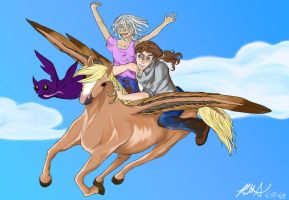 Fly Me Away by GrimReapette