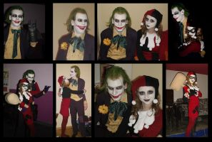 The Joker and Harley cosplay by Nox-dl