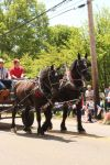 Draft Horses and Wagon III by Stock-Wulf