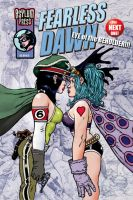 Fearless Dawn EYE Cover for Comic shops by rattlesnapper