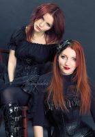 together with my mom 2 by VAMPIdor