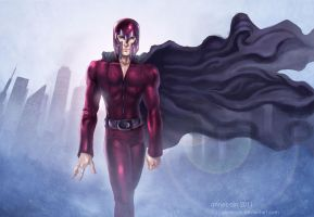 Villains: Magneto by annecain