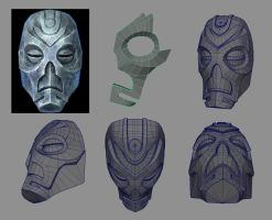Skyrim Dragon Priest mask by Jay-Michael-Lee