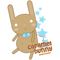 caramel bunny by Lucora