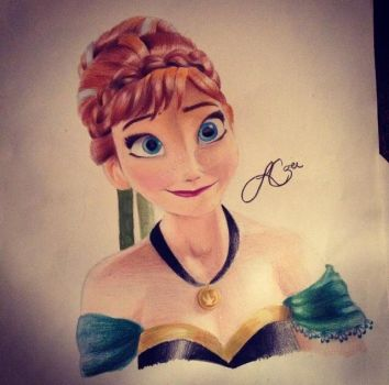 For The First Time in Forever ~ Anna by x12Rapunzelx