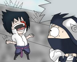 Evil laugh sasuke by sozine2