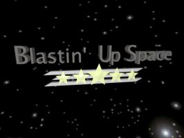 Blastin' Up Space 3D Logo by Etrocal