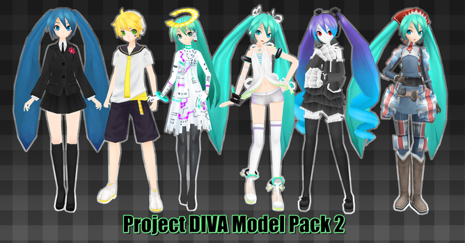 Project DIVA Model Pack 2 DL by Xoriu