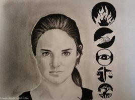 Divergent: Beatrice (Tris) Prior by Liuen