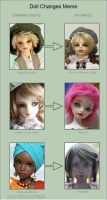 Doll changes meme 2 by ladyiolanthe