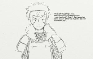 Naruto 618 - Tobirama's Reaction by littledarks