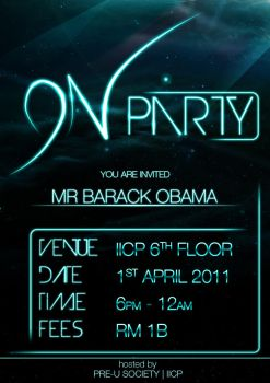 ON party by KeNGZ