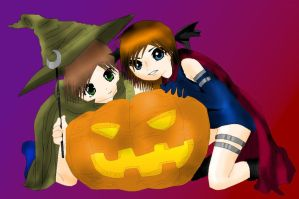 Happy Halloween 2011 by RE4me95
