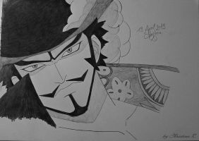 One Piece - Mihawk by Monstacookie