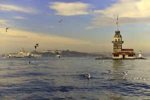Colorful Istanbul by vabserk