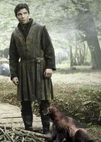 Gendry Waters and His Daemon by LJ-Todd