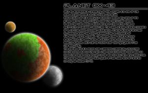 Planet CX-43 by Forecaster71
