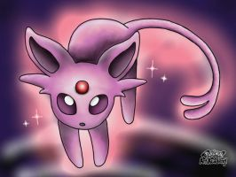 Espeon by 29steph5