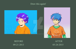 Teddy Lupin Before-After by RMAlexis
