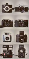 Analog cameras by keep-smiling-lila